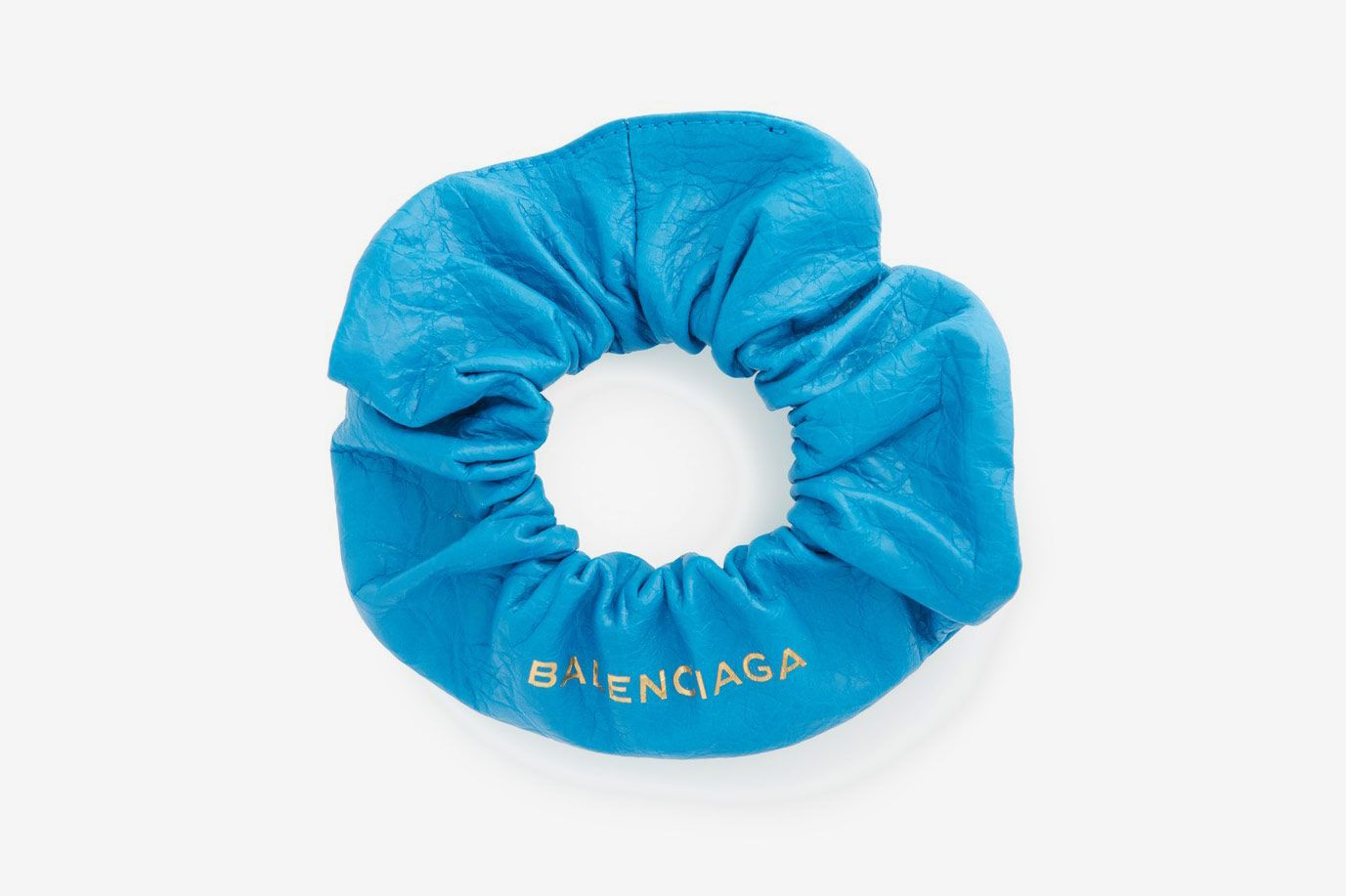 Balenciaga Chouchou Leather Bracelet