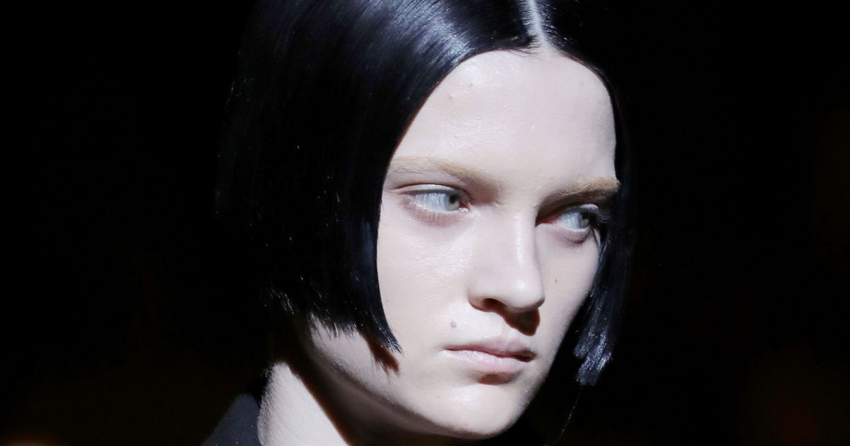 Lucky Models at Prada Got Free Professor Snape Haircuts