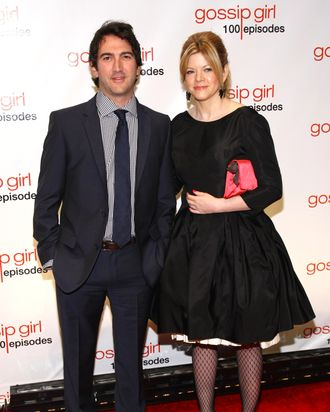 Executive producers Josh Schwartz (L) and Stephanie Savage