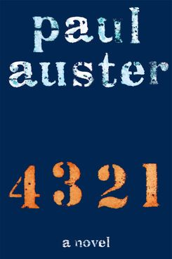 4 3 2 1, by Paul Auster