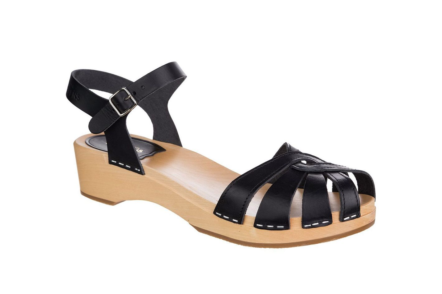 Swedish Hasbeens Cross Strap Debutant Sandal