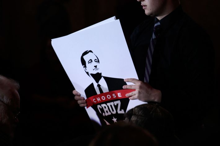 GOP Presidential Candidate Ted Cruz Campaigns In Madison, Wisconsin