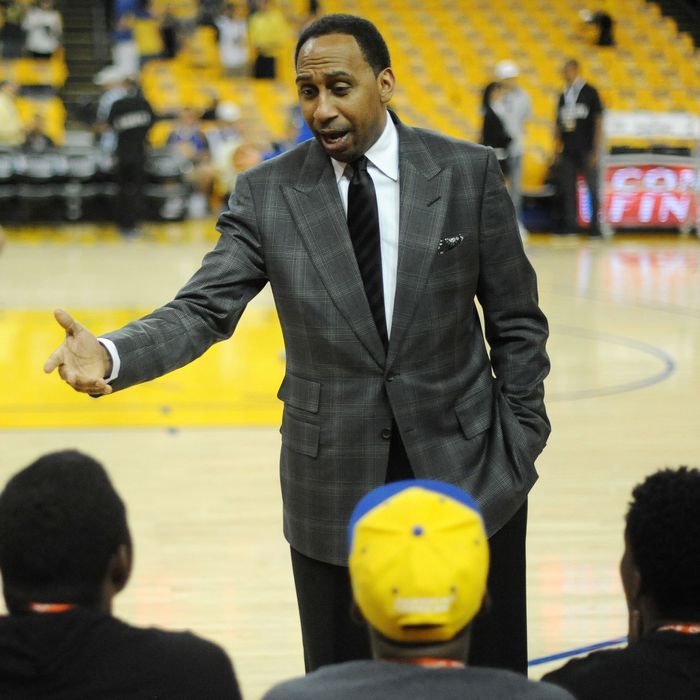 """Stephen A. Smith's """"TAke A Look, Y'all"""" Pic Is Lost To Time"""