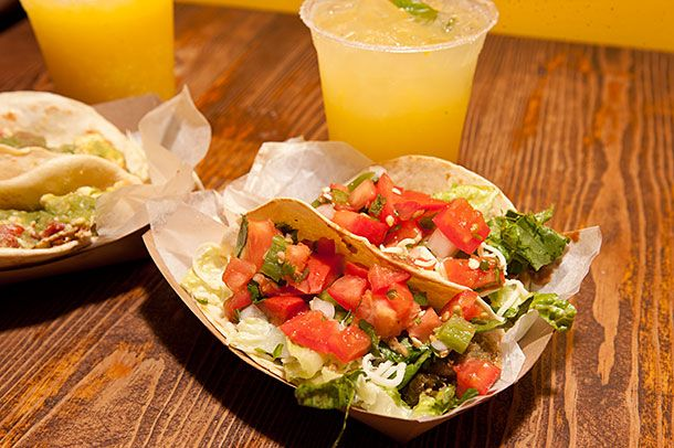 Tacos at Gueros.