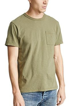 J. Crew Garment Dyed Pocket T-Shirt