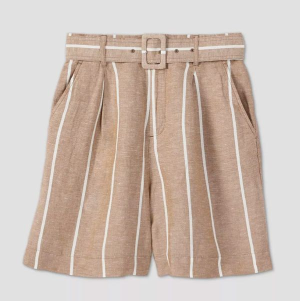Target A New Day Women's Belted High-Rise Shorts