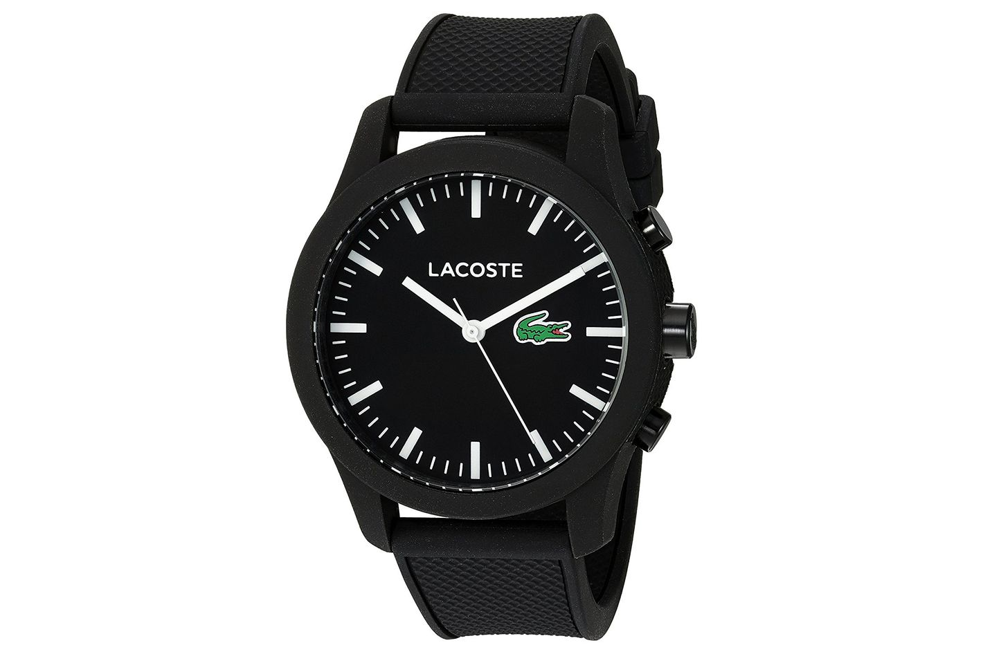 Lacoste Men's '12.12-TECH' Quartz Plastic and Rubber Smart Watch