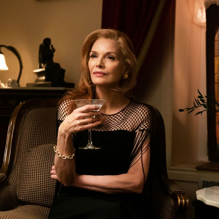 Michelle Pfeiffer as Frances Price in French Exit.