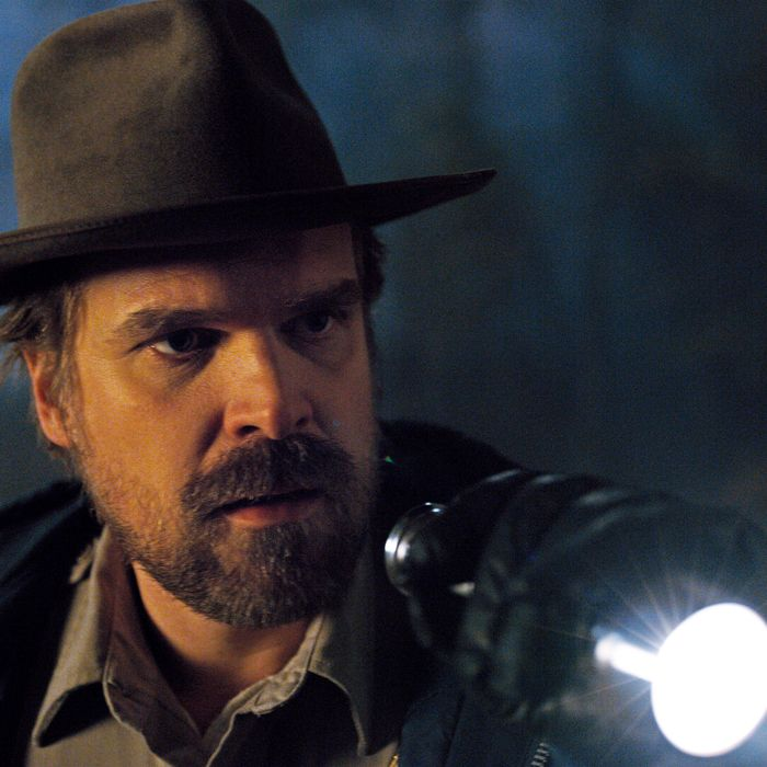 Jim Hopper, don't you think you should shine that light into your own soul?