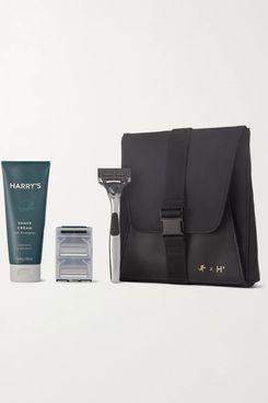 Harry's + WANT Les Essentiels Travel Shaving Set