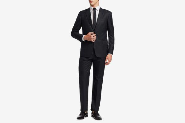 Giorgio Armani Basic Wool-Blend Suit