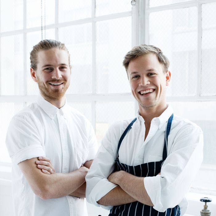 Owners Giles Russell and Henry Roberts are Aussie expats.