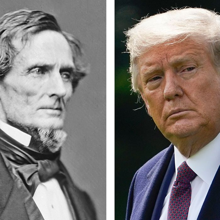 14th Amendment May Ban Trump From Holding Office Again