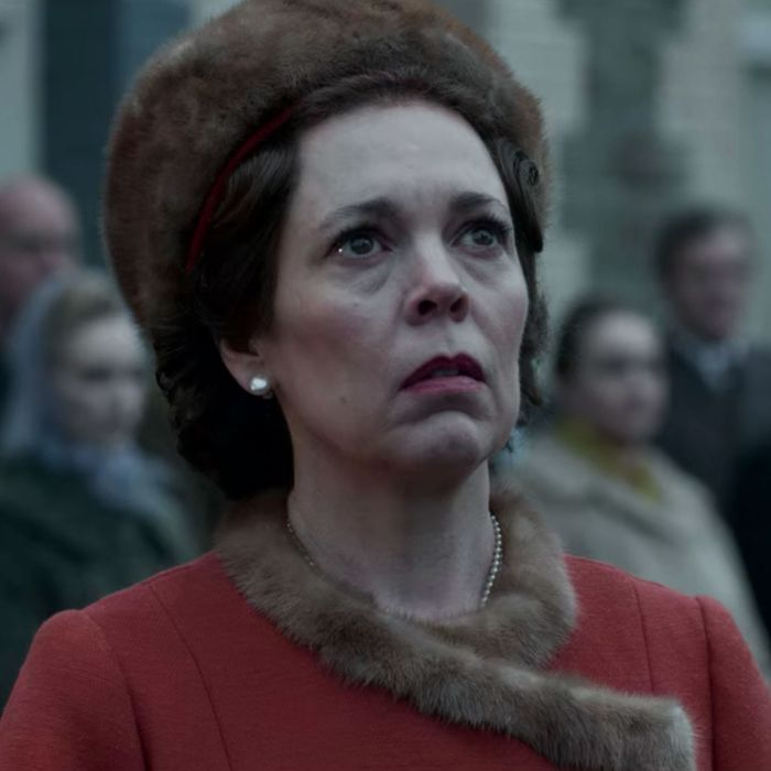 Olivia Colman as Queen Elizabeth in