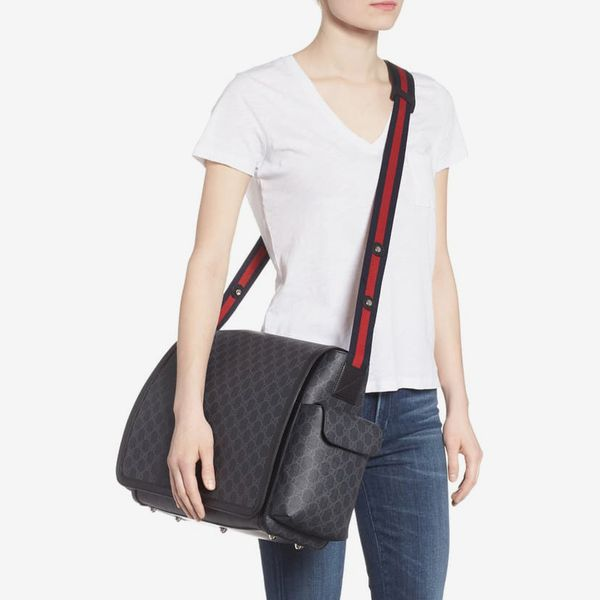 Gucci GG Supreme Canvas Diaper Bag