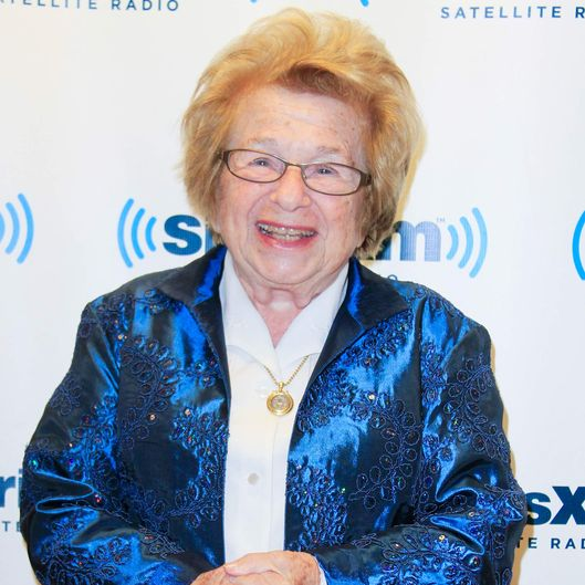 New York , NY, December 4, 2013 : Dr. Ruth Westheimer appears at a Town Hall Meeting at SiriusXMPhoto Credit ; Rahav Segev / Retna Ltd. NEW YORK, NY - DEC 4: Dr. Ruth Westheimer appears at a Town Hall Meeting at SiriusXM in New York City, New York on December 4, 2013. Photo Credit: Rahav Segev / Retna Ltd.