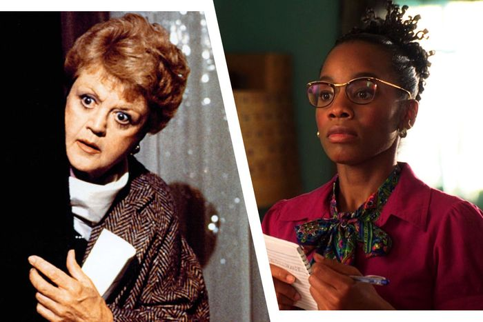 Angela Lansbury in <em>Murder, She Wrote</em> and Anika Noni Rose in <em>The No. 1 Ladies Detective Agency</em>.