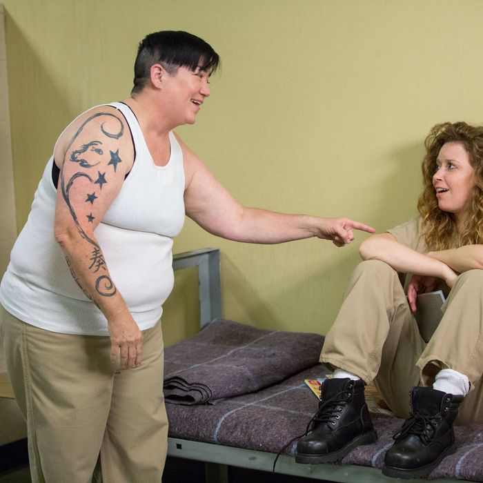 Orange Is the New Black: Season 2, Episodes 10 & 11: Our Most Cherished Larry Fantasy Comes True