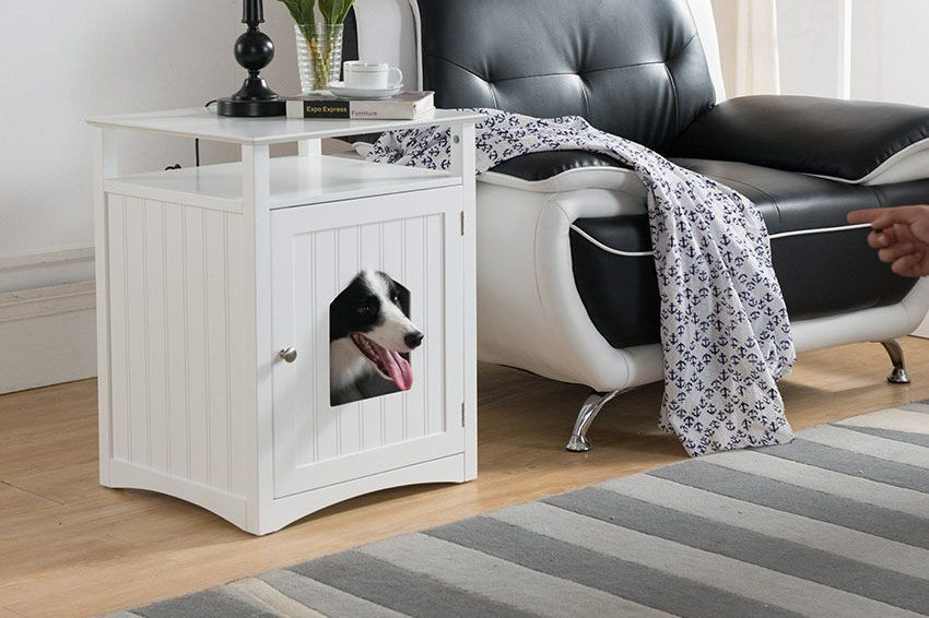 One Source Living Molly Pet House Side Table