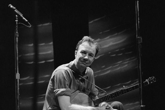 Pete Seeger performs on CAMERA THREE, November 30, 1965.