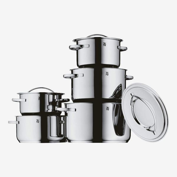 WMF Gala Plus - Polished Stainless Steel Pans (Set of 5)