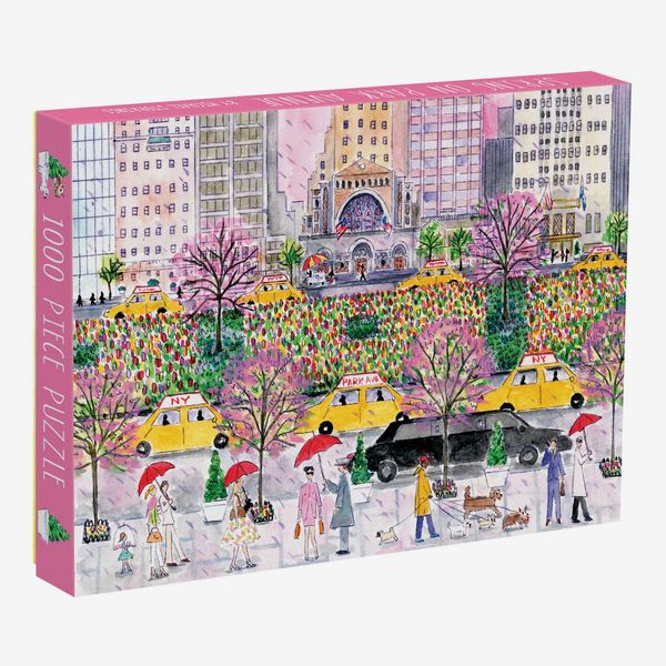 Spring On Park Avenue 1000 Piece Jigsaw Puzzle