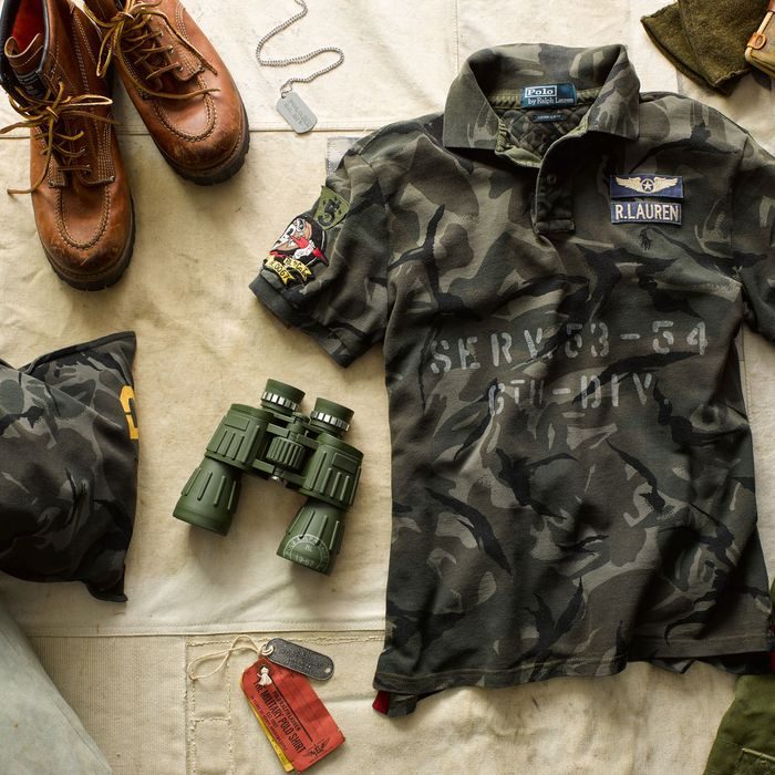 Ralph Lauren Releases Limited Edition Military Style Polo