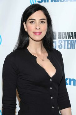 "Sarah Silverman attends SiriusXM's ""Howard Stern Birthday Bash"" at Hammerstein Ballroom on January 31, 2014 in New York City."