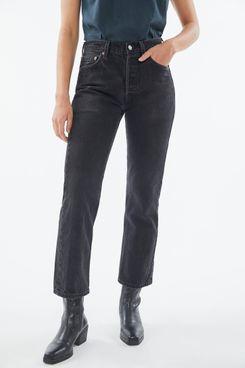 Urban Renewal Vintage Levi's 501/505 Washed Black Jean