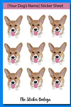 The Sticker Bodega Custom Dog Stickers