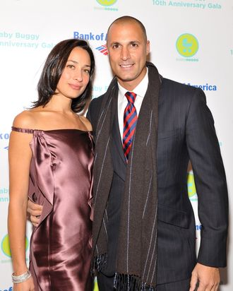 Cristen and Nigel Barker.