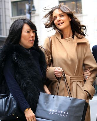 Yang and Holmes out in New York today.