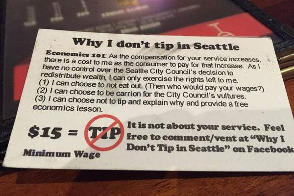 Bartender Says He Received This Patronizing 'Economics' Card Instead of an Actual Tip