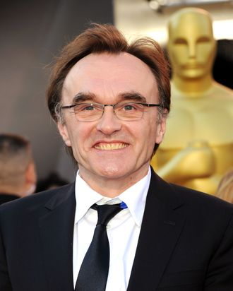 Director Danny Boyle arrives at the 83rd Annual Academy Awards