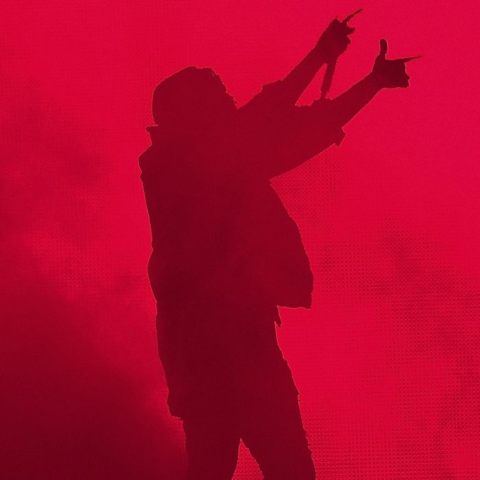 Kanye West Performs In Perth