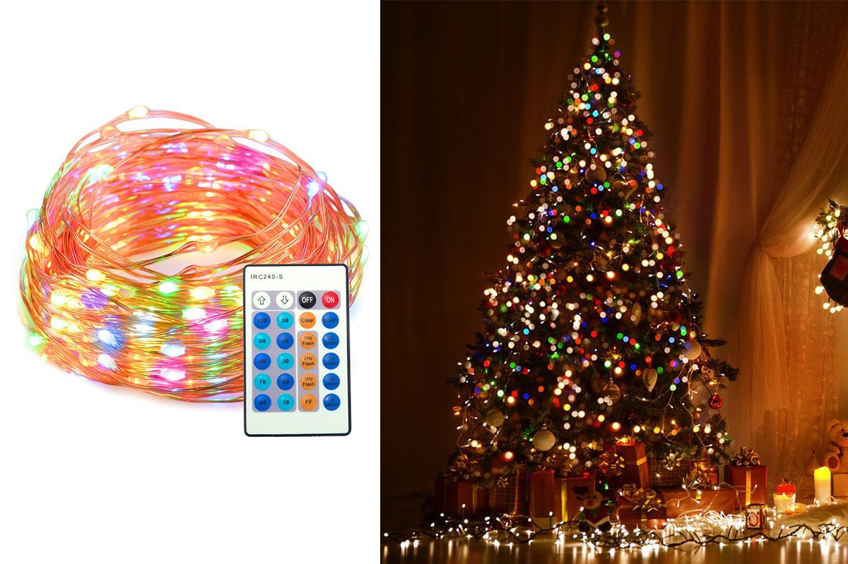 best christmas lights - Christmas Tree With Lights And Decorations