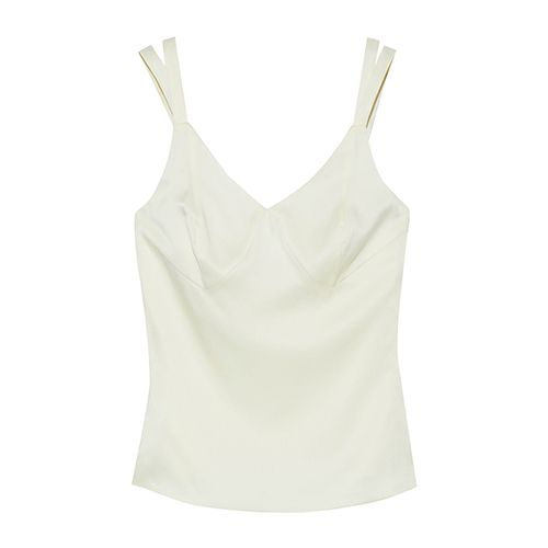Iris & Ink Leo silk-satin camisole