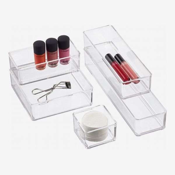 The Container Store Acrylic Stackable Drawer Organizers