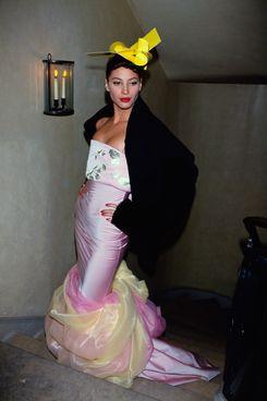Christy Turlington in John Galliano's 1994-1995 autumn-winter collection
