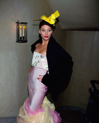 Christy Turlington in John Galliano's 1994-1995 autumn-winter collection