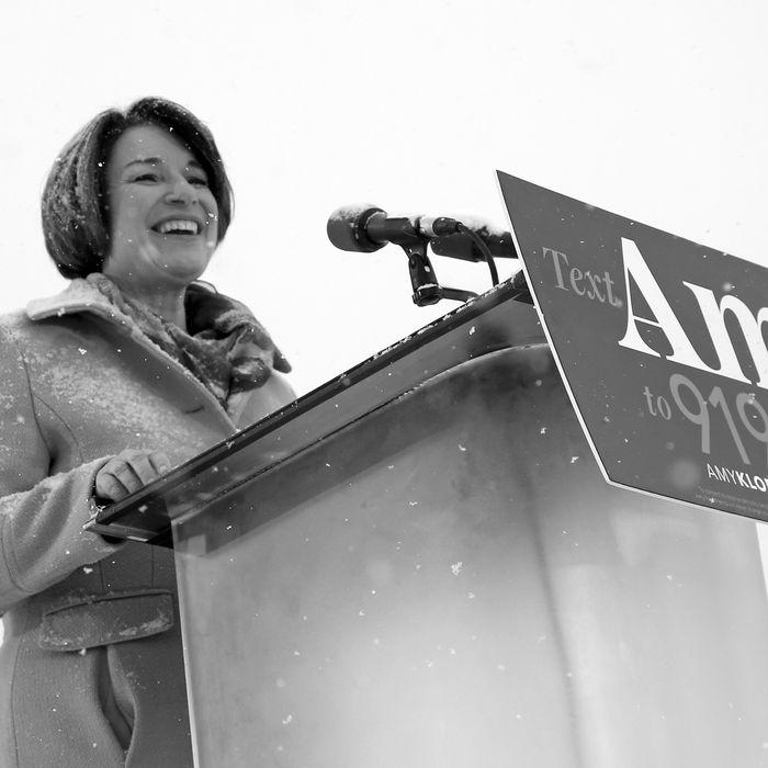 Amy Klobuchar.