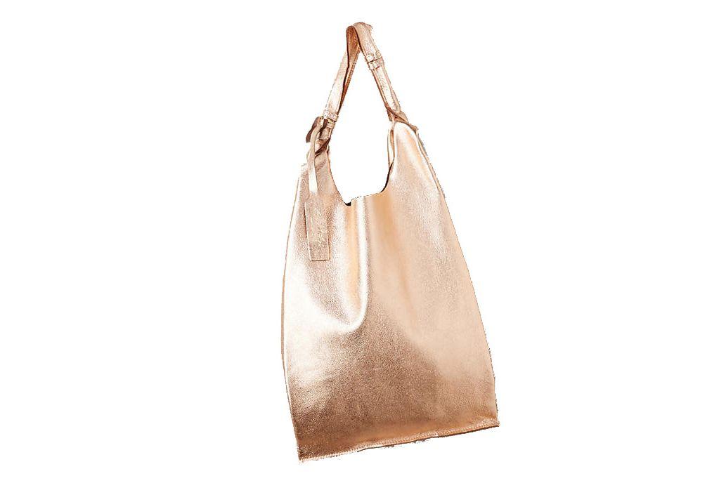 Anita Bilardi Reversible Leather Tote