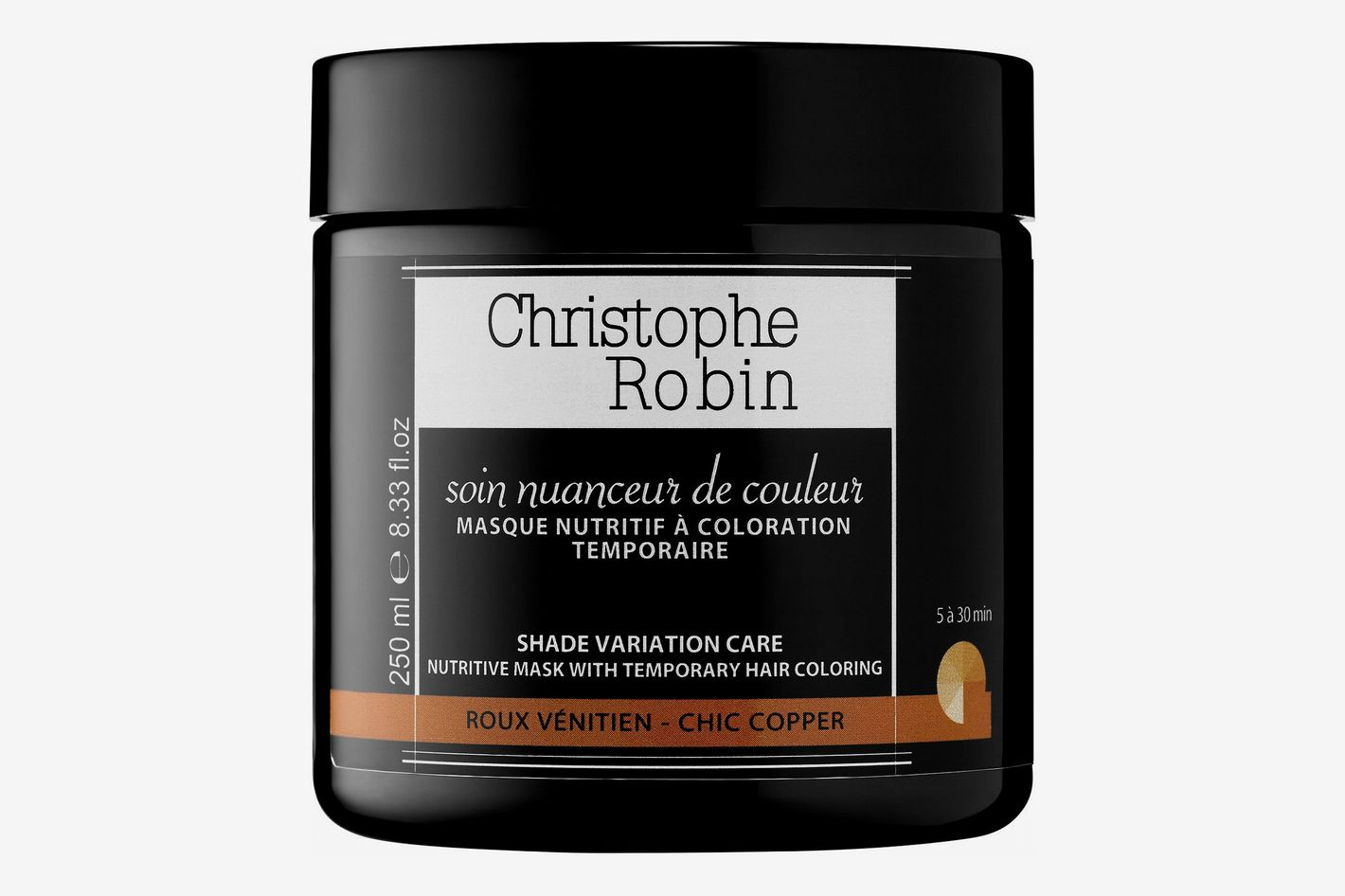 Christophe Robin Shade Variation Care Nutritive Mask With Temporary Coloring - Chic Copper