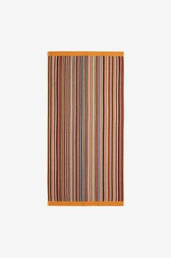 Paul Smith Signature-Stripe Cotton-Terry Beach Towel