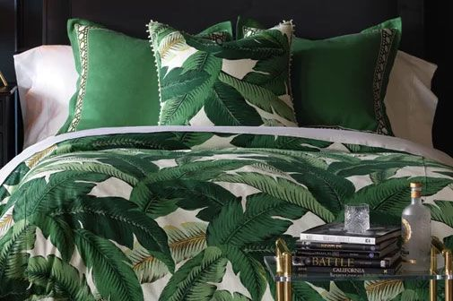 Eastern Accents Lanai Palm Duvet Cover