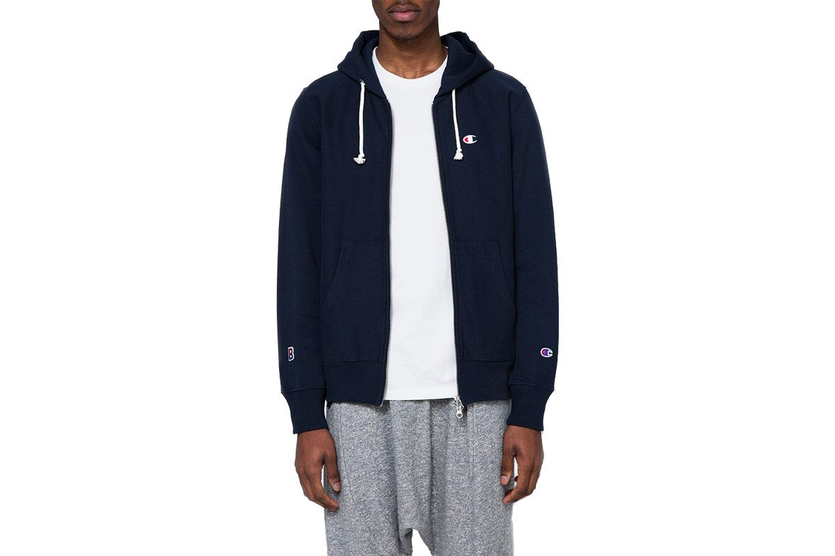 Champion x BEAMS Hooded Sweatshirt