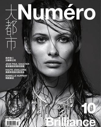Edita Vilkeviciute, shot by Kai Z. Feng for <em>Numéro</em> China.