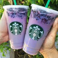 Starbucks's New 'Secret' Drink Is a Ghastly Purple Nightmare