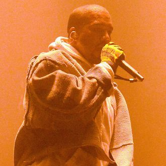 Kanye West In Concert - New York, NY