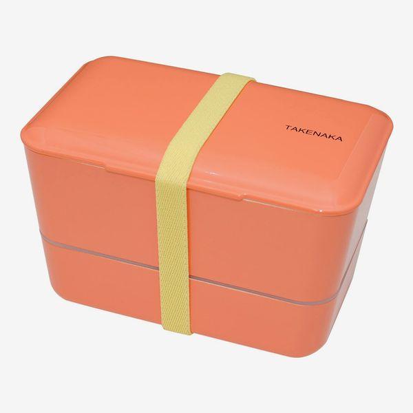 TAKENAKA Expanded Double Coral Bento Box